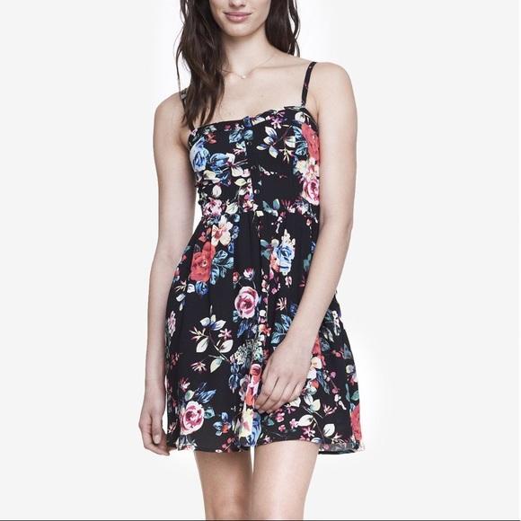 dbe42a5ac0a Express Dresses   Skirts - Floral Print Cami Sundress Express M